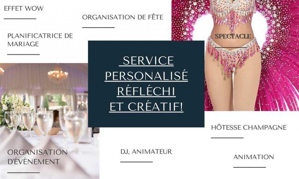 Service événementiel